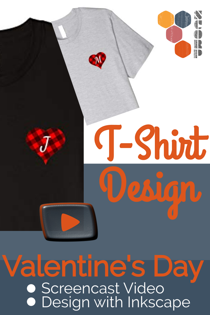 T-Shirt Design mit Inkscape - Video