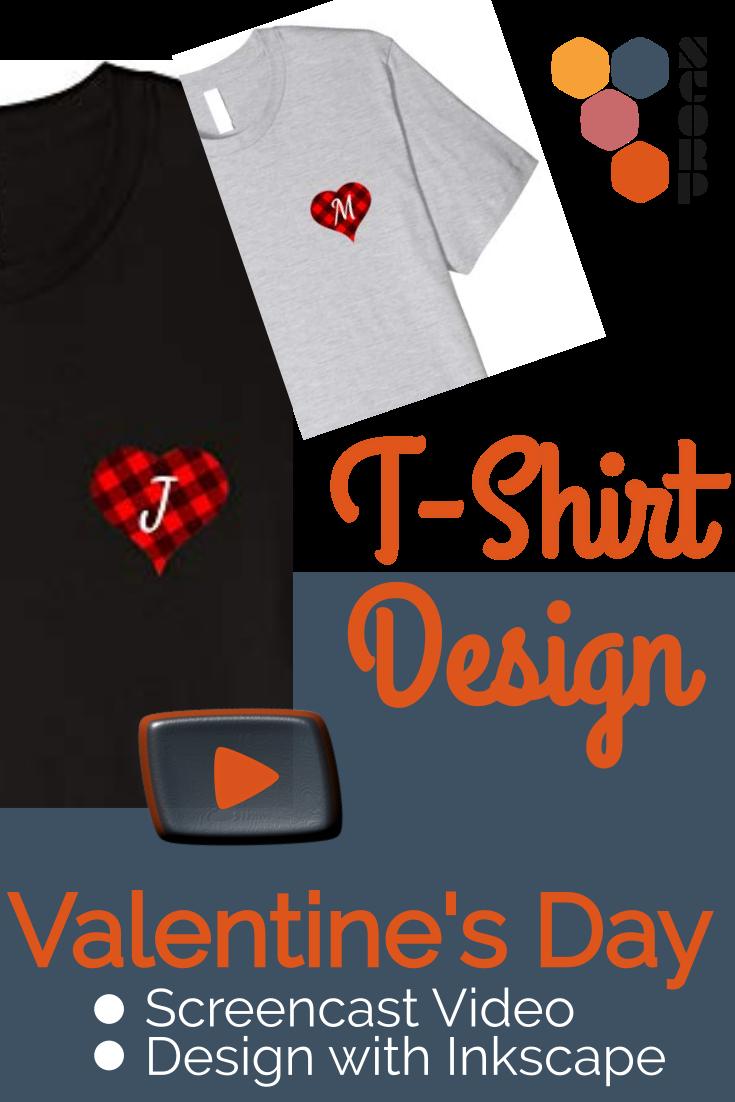 T-Shirt Design mit Inkscape - Video