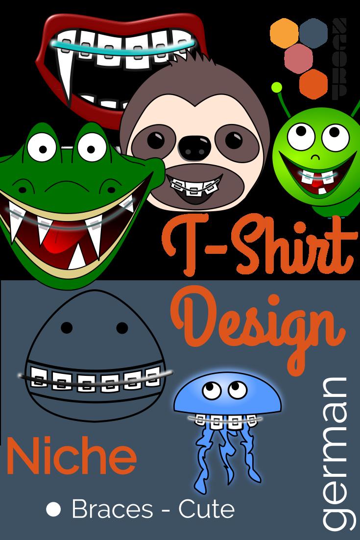 Nische - Zahnspangen T-Shirts
