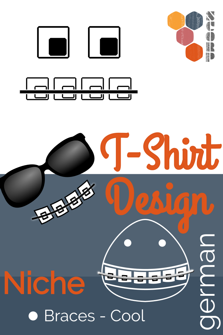Nische - Coole Zahnspangen T-Shirts