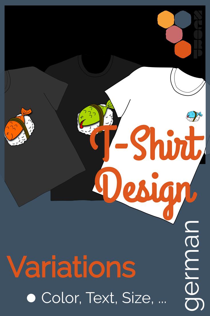 Variationen - Vorhandene T-Shirt Design abändern